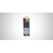 Caneta Fine Liner 0.4MM Blister c/ 06 Unid. - BRW