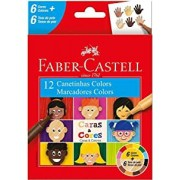Canetinha Colors Caras e Cores - 12 un - Faber-Castell