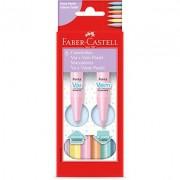 Canetinha Vai e Vem Tons Pastel - 12un - Faber-Castell