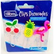 CLIPS DECORADOS 3 UNIDADES - TILIBRA