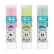 Cola bastão transparente colorida - Tilibra