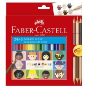 EcoLápis 24 + 3 Caras E Cores - Faber-Castell
