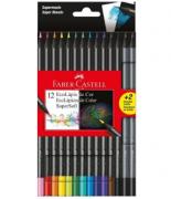 Ecolápis de cor Supersoft -12 + 2 - Faber-Castell