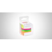 Fita Adesiva Washi Tape Neon c/ 04 Unid. - BRW