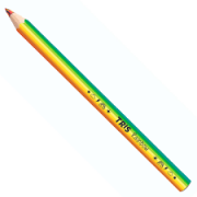 Lápis de Cor Tris Rainbow Jumbo