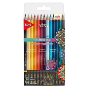 Lápis de Cor Vibes Boho Chic  6B - 12 un - Tris