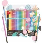 Lápis de Cor Vibes Pastel 6B - 24 un - Tris