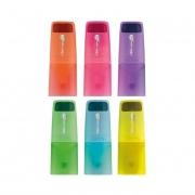 Marca Texto Fluorescente Tris Neon Liqeo Mini