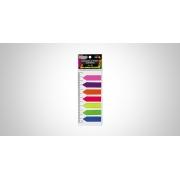 Marcador de Página Smart Notes c/ Régua Neon 7 Cores - BRW