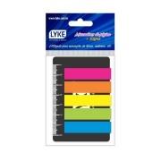 Marcador de Páginas Neon com Régua - Lyke