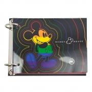 Mini Fichário Argolado DAC - Mickey