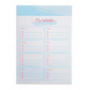Planner de Mesa Semanal- A5 - La Bela - Ótima