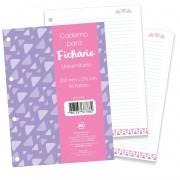 Refil para Fichário Lettering - 80 fls - DAC