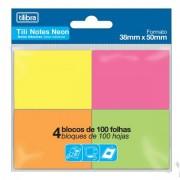 Tili Notes Neon 38x50mm  - Tilibra