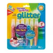 Tinta Guache Bisnaga Glitter - 06 Un - Tris