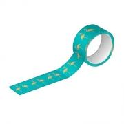 Washi Tape Glitter e Metalizada - Tilibra