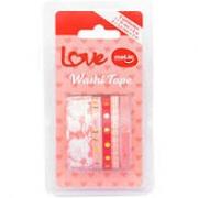 Washi tape love - Kit com 5 - Molin