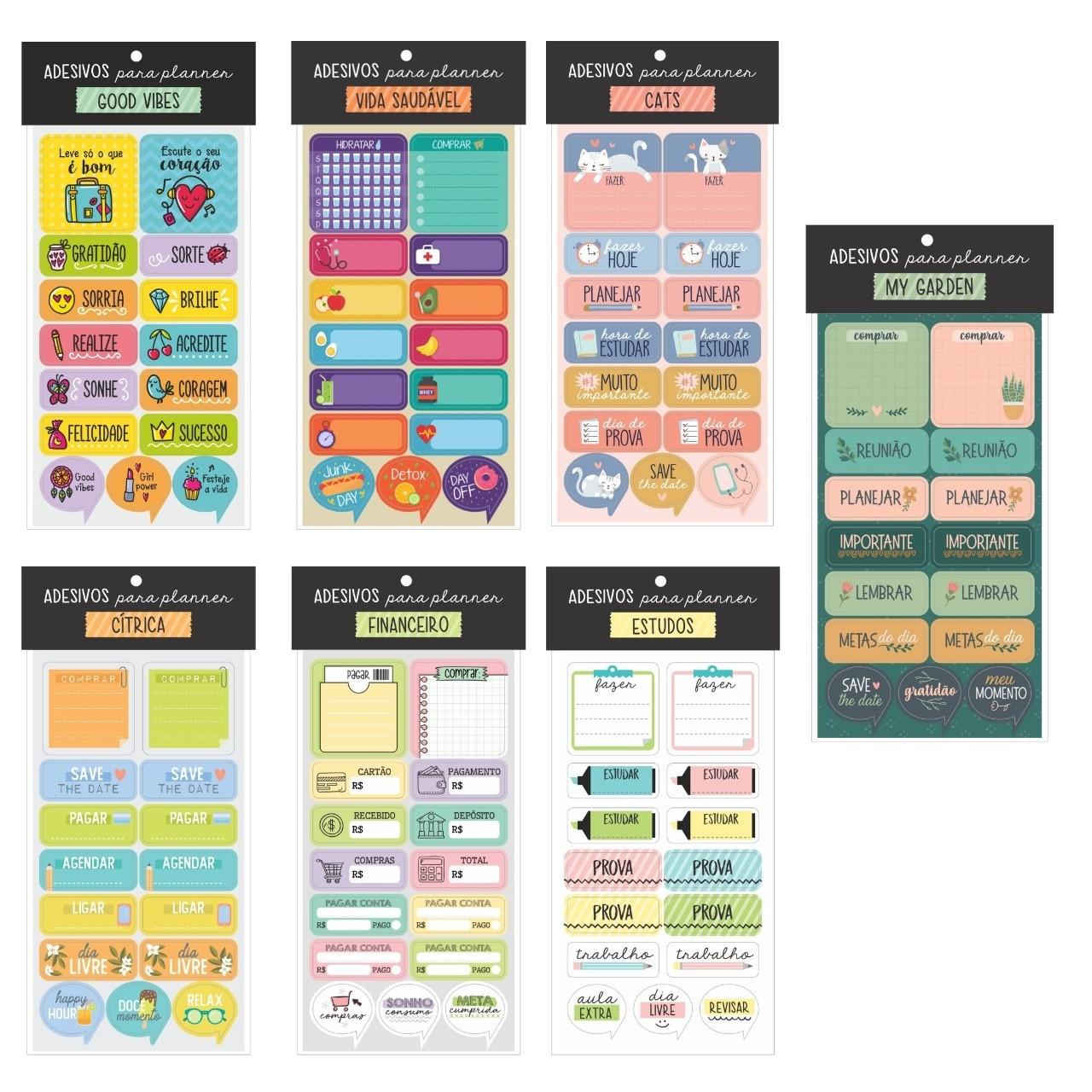 Adesivos Funcional - Cartões Gigantes