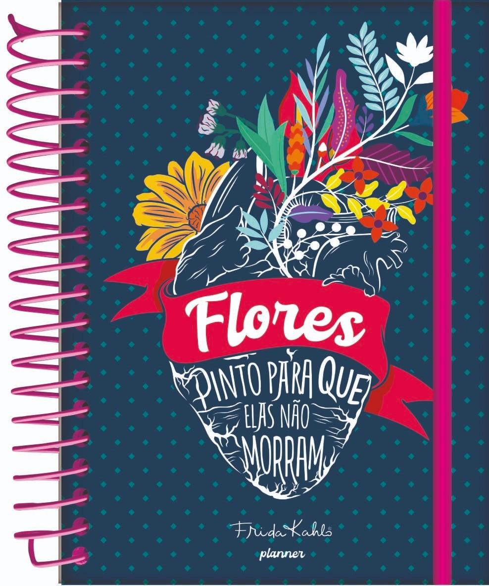 Agenda Planejamento Frida Kahlo - Jandaia