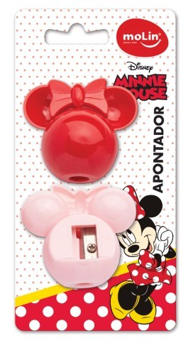 Apontador Face Minnie - 2un - Molin