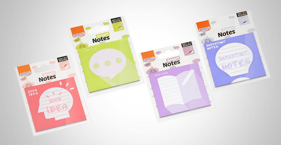 Bloco Smart Notes Frame 2 em 1 75x75MM
