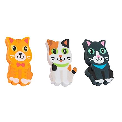 Borracha Animal Planet Cats - 03 un - Molin