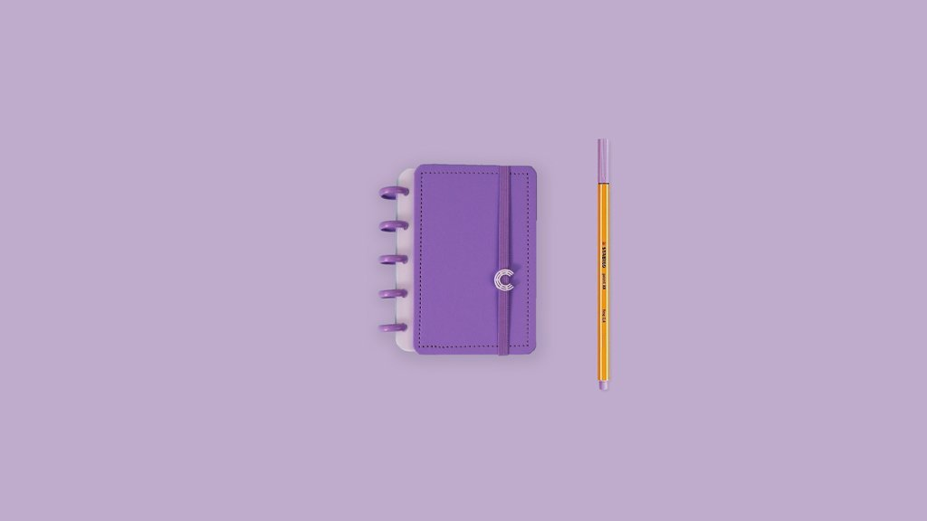 Caderno All Purple