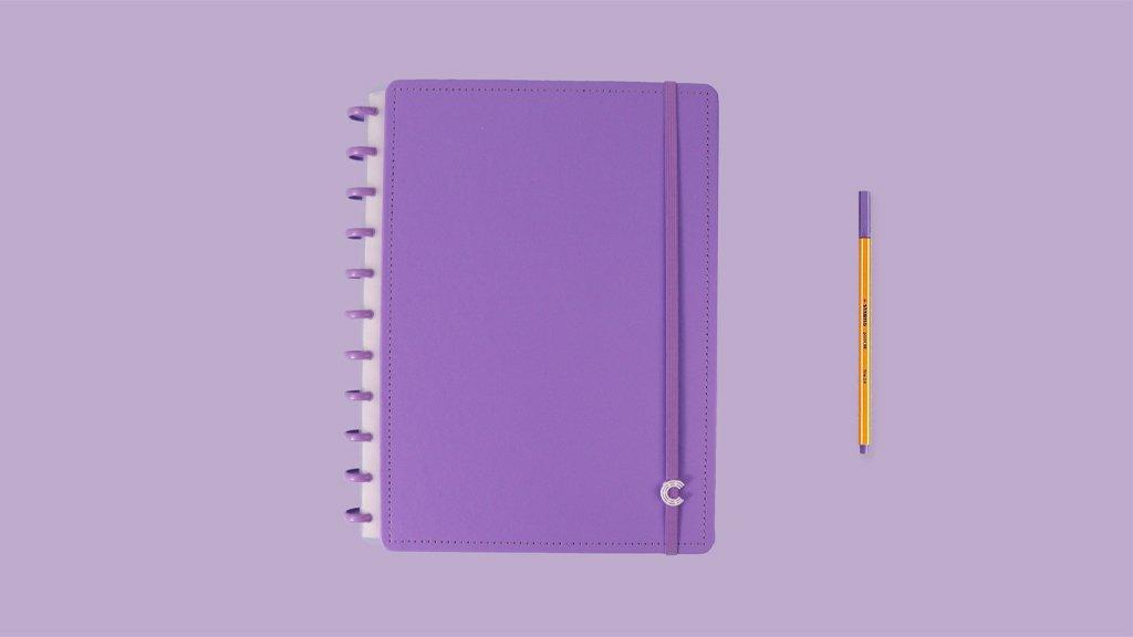 Caderno All Purple - Grande