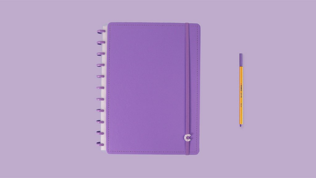 Caderno All Purple - Medio