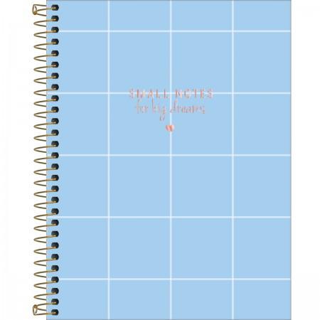 Caderno Colegial 1 Matérias Soho 80 Folhas