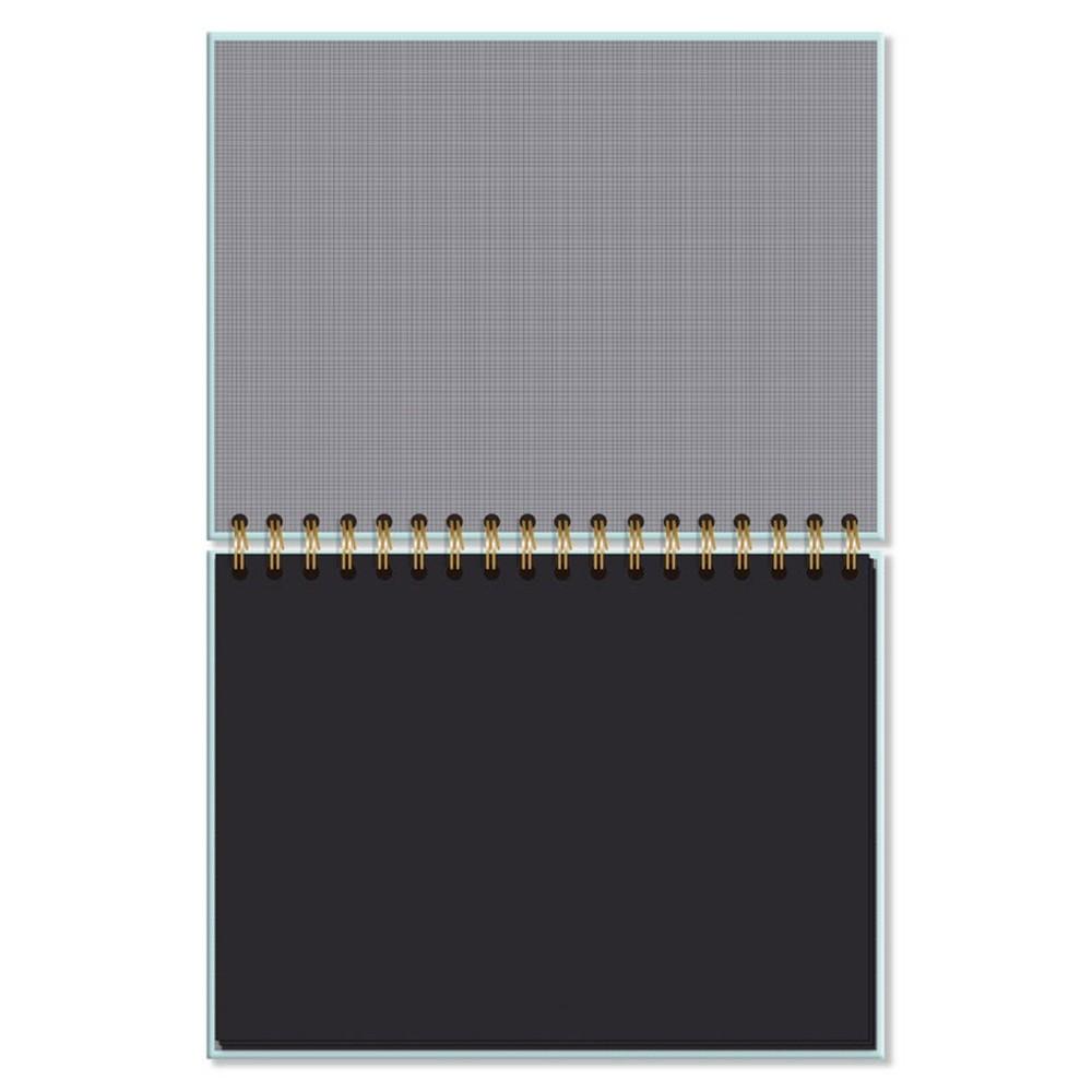 Caderno de Lettering - Folhas Pretas - Fina Ideia