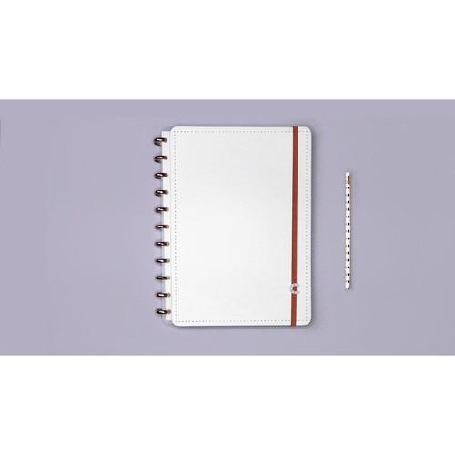All White Grande - Caderno Inteligente