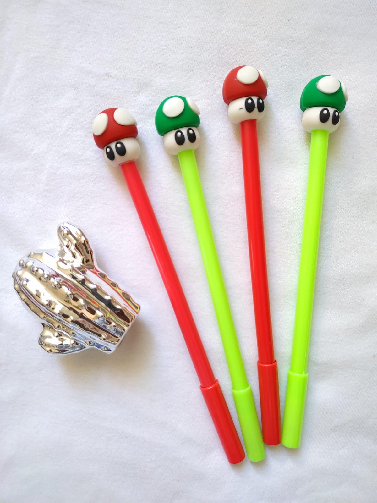 Caneta Cogumelo do Mario