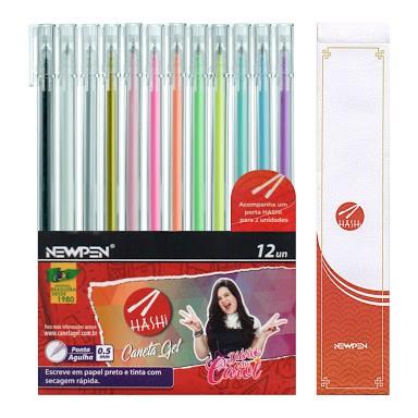 Caneta Hashi Gel Pen - 12un - Newpen