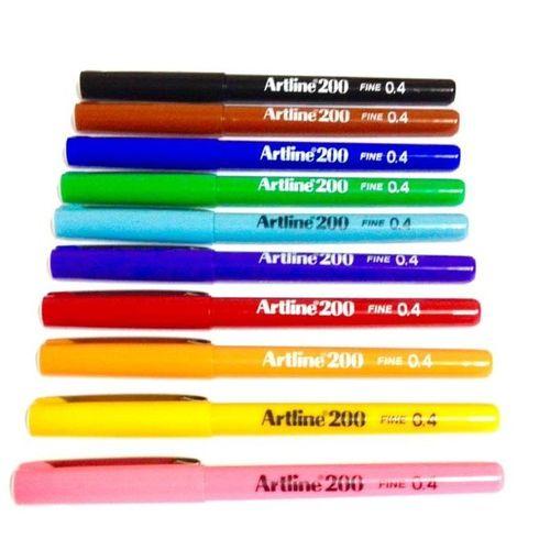 Caneta Hidrográfica Fine Pen EK-200 Artline - Tilibra