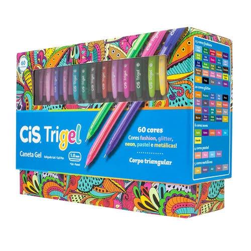 Caneta Trigel 1.0 - 60 un - CIS