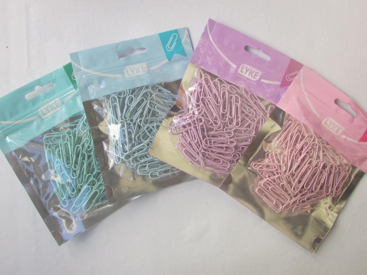 Clips 33mm - Ziper Bag Rosa Pastel