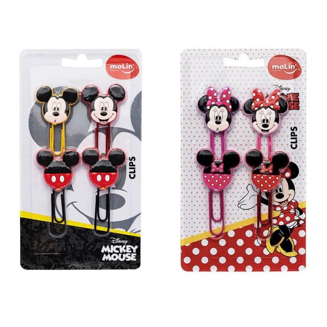 Clips 50mm - Mickey & Minnie - Molin