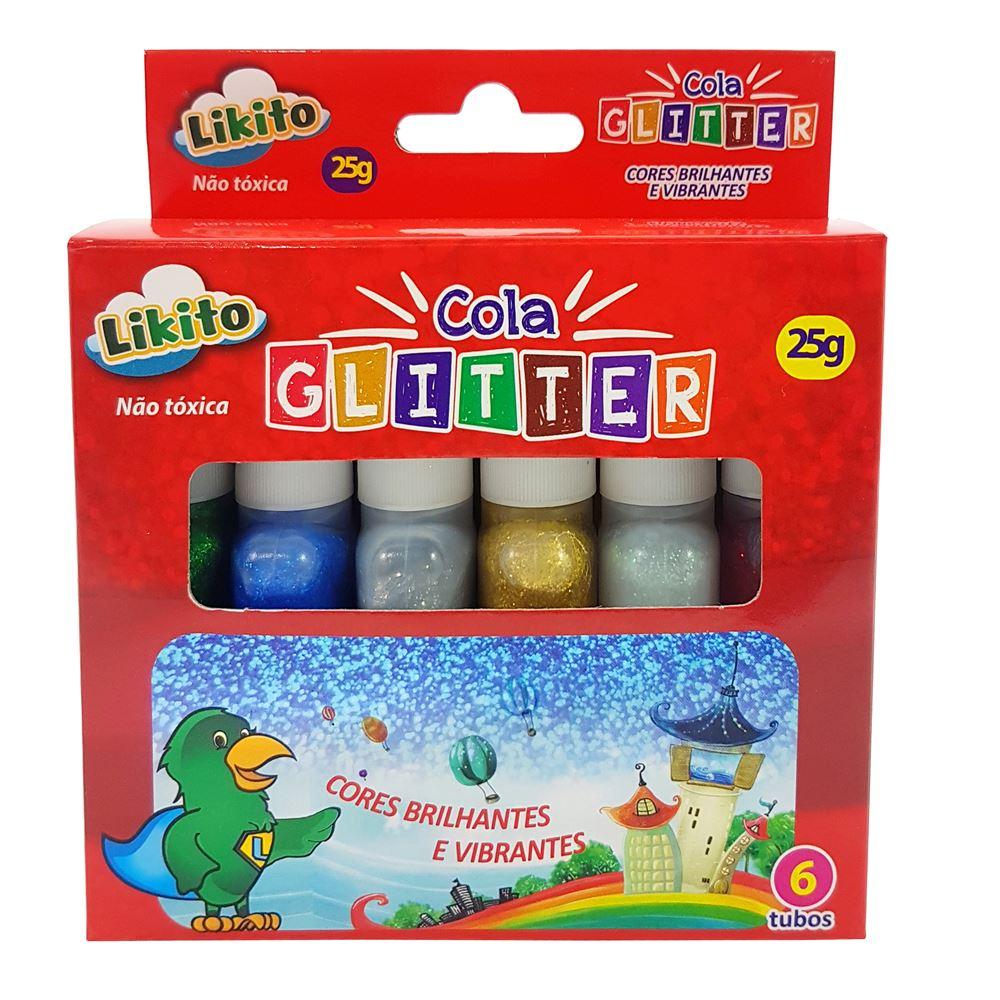 Cola Glitter 25g - 06un - Lyke