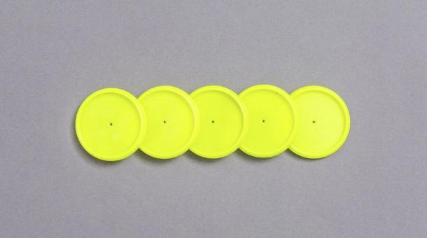 Discos + Elástico - G 31mm - Caderno Inteligente