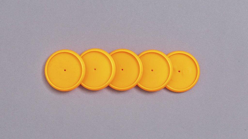Discos + Elástico - G (31mm) Caderno Inteligente
