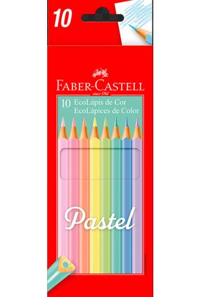 Ecolápis de Cor em Tons Pastel - Faber-Castell