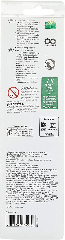 Ecolápis Eco Grip 2001 - 03 un - Faber-Castell