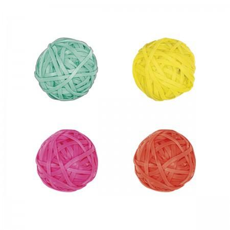 Elástico Colorido Bolinha - Tilibra