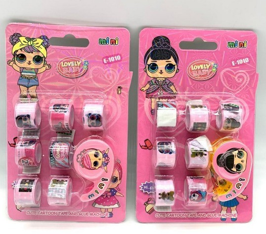 Kit Mini Washi Tapes LOL Lovely Baby