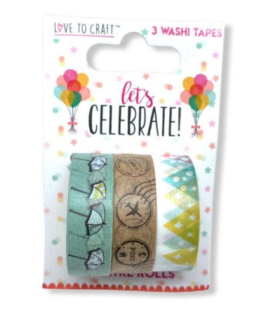Washi Tapes Love to Craft Sortidas - 03 un