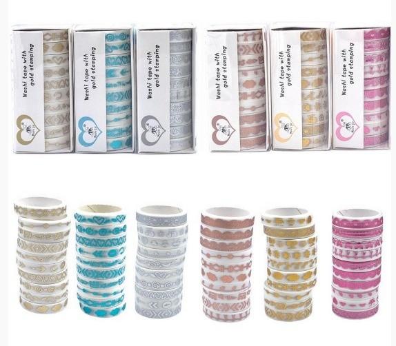 Kit Washi Tapes Luxo Fine - 10 un