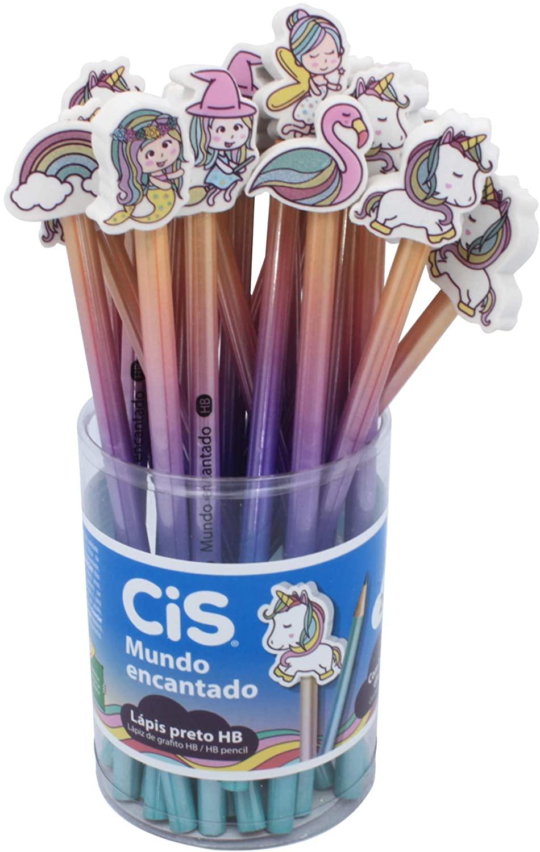 Lápis Preto Mundo Encantado - CIS