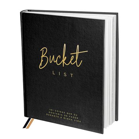 Livro de Anotações Bucket List - DAC