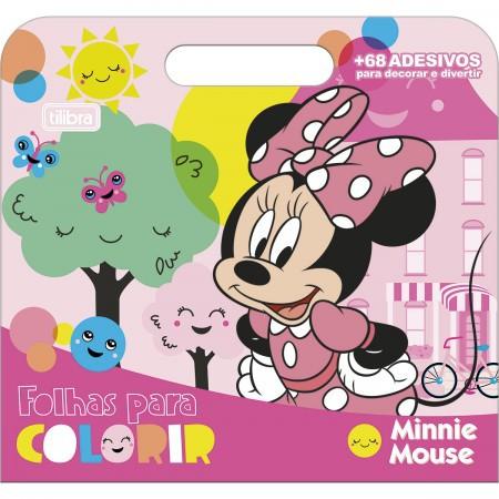 Maleta Minnie para colorir - Tilibra